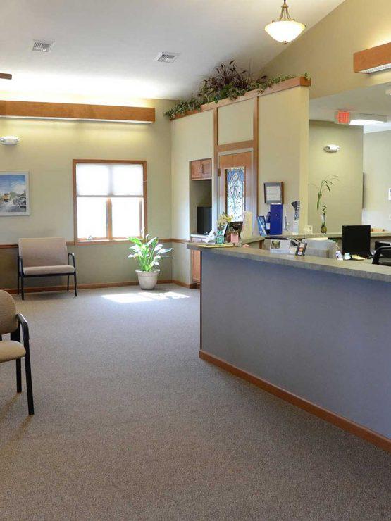 Dr Thomas M Pedavoli DDS Office Waiting Room